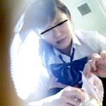 盗撮、痴態トイレお漏らし女子校生編3